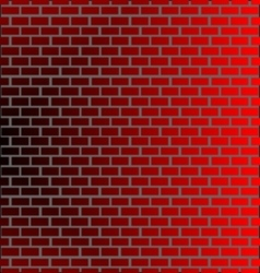 Wall brick backround vector