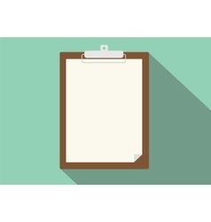 clipboard isolated vector image