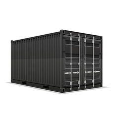cargo container 011 vector image vector image