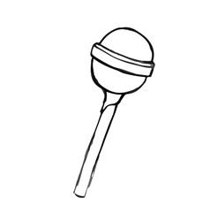 Chupa Chups doodle hand drawn vector image vector image