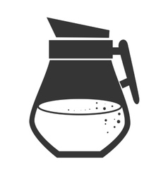 Drink flask jug vector image