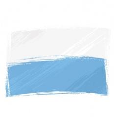grunge San Marino flag vector image vector image