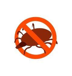 Harmful insects icon isometric 3d style vector image