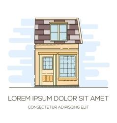 House invitation card vector
