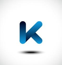 Letter K logo icon design template element vector image
