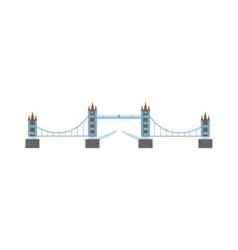 River bridge vector image vector image