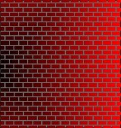 Wall brick backround vector