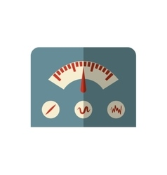Gauge icon machine design graphic vector