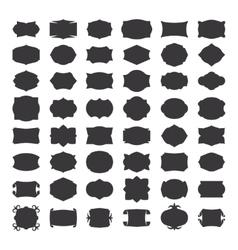 Blank frames for label vector