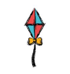 kite icon image vector image