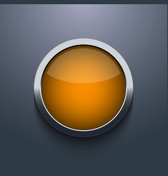 Web button design on gray background eps10 vector