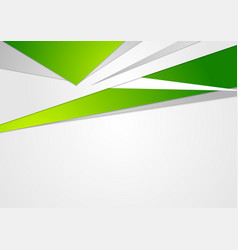 Abstract green concept corporate background vector