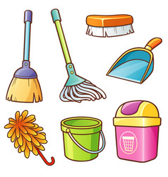 Cleaning supplier vector
