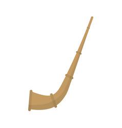 Mate straw icon vector