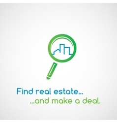 Find real estate vector