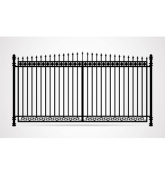 gate icon vector image vector image