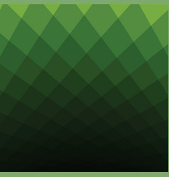 Green square tone background vector