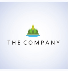 Mountain logo design signs symbols logo vector