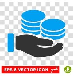 Salary eps icon vector