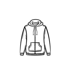 Sweater hand drawn sketch icon vector