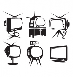 tvs vector image vector image
