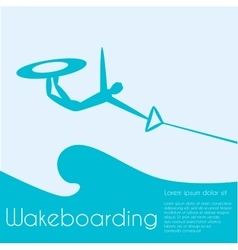 Wakeboard vector