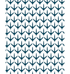 Chicken footprint seamless pattern for the fabric vector