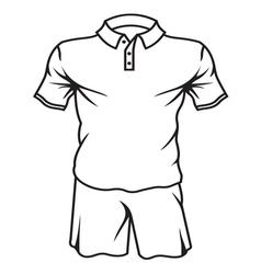 Football soccer jersey2 vector