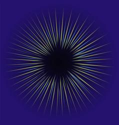 glow light effect star burst vector image