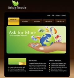 Website business vector