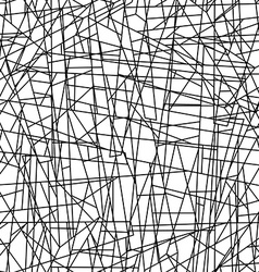Abstract chaotic lines in a seamless pattern vector image