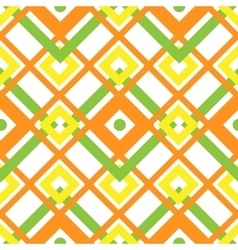 Seamless geometric pattern with square vector