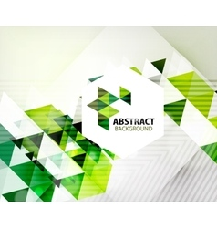 Geometric abstract polygonal background vector
