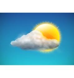 Weather icon vector