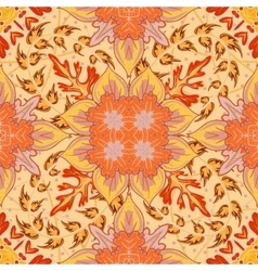 Gorgeous seamless patchwork pattern from blue vector