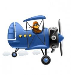 pilot vector image vector image
