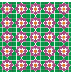 Seamless traditional islamic vector image vector image