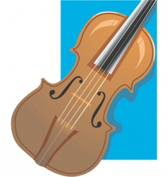 violin vector image