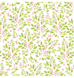 Summer and spring background with leaves and vector