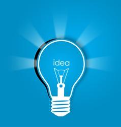 Idea background vector