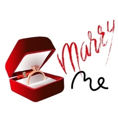 Marry me ring sign icon engagement symbol marry vector