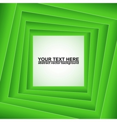 Green squares abstract background vector