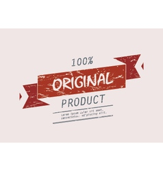Original product vector