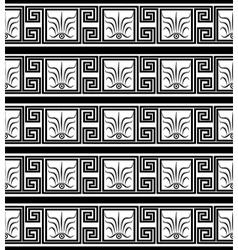 black greece vector image
