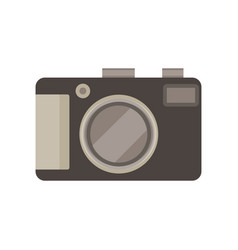 camera photo photograph icon picture digital lens vector image vector image