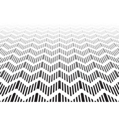 Textured zigzag surface vector image vector image