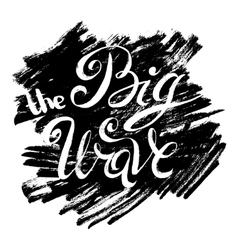 The Big Wave vector image