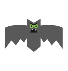 Evil angry sullen bat emotional vampire the vector