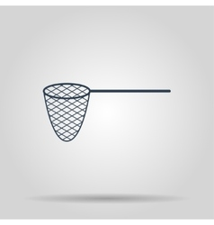 Fishing icon concept for vector