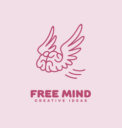 Free mind logo vector